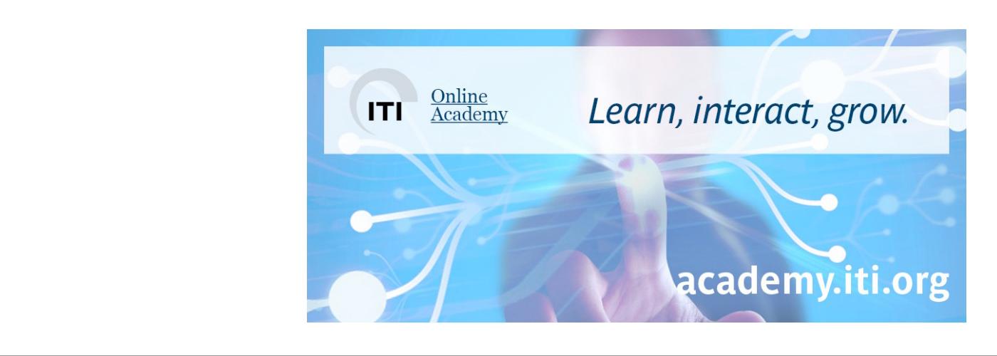 ITI - Learn, interact, grow