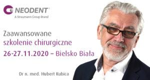 Neodent Kurs – Dr n. med. Hubert Kubica – 26.27.11.2020